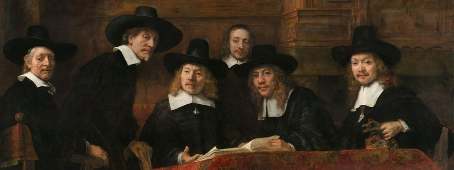 Dutch traders by rembrandt