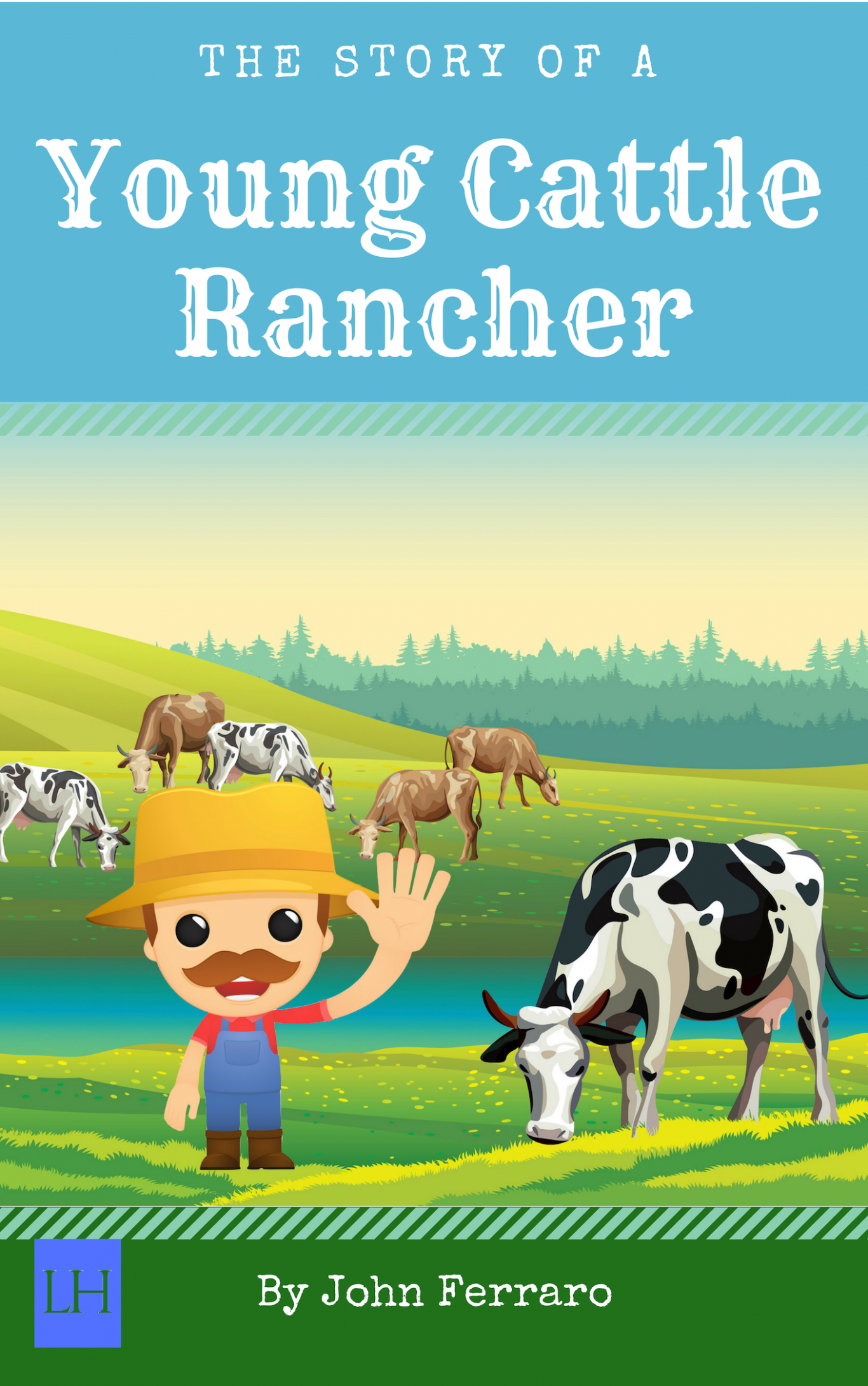 Young Cattle Rancher Cover